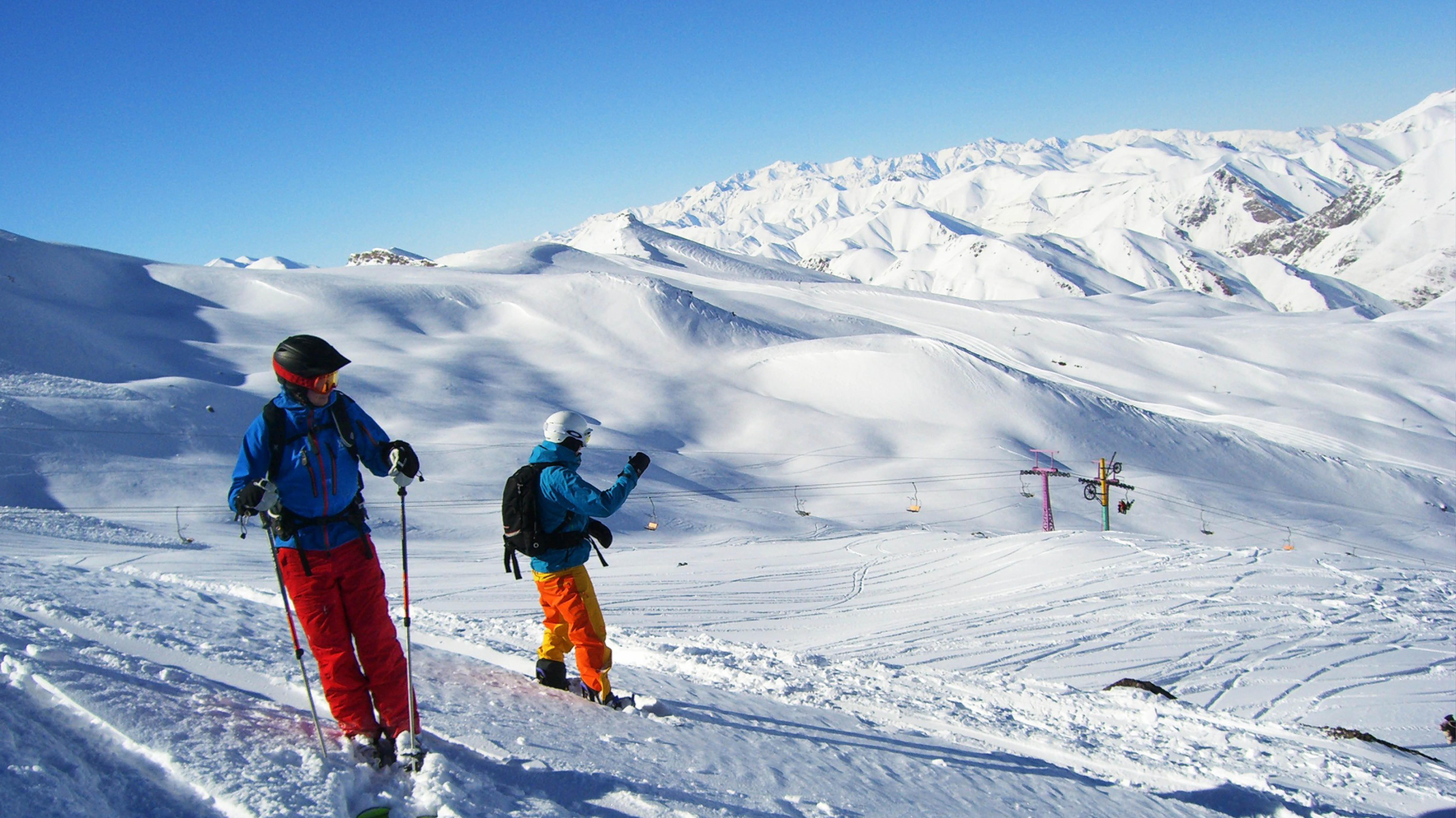 skiën in iran wintersport