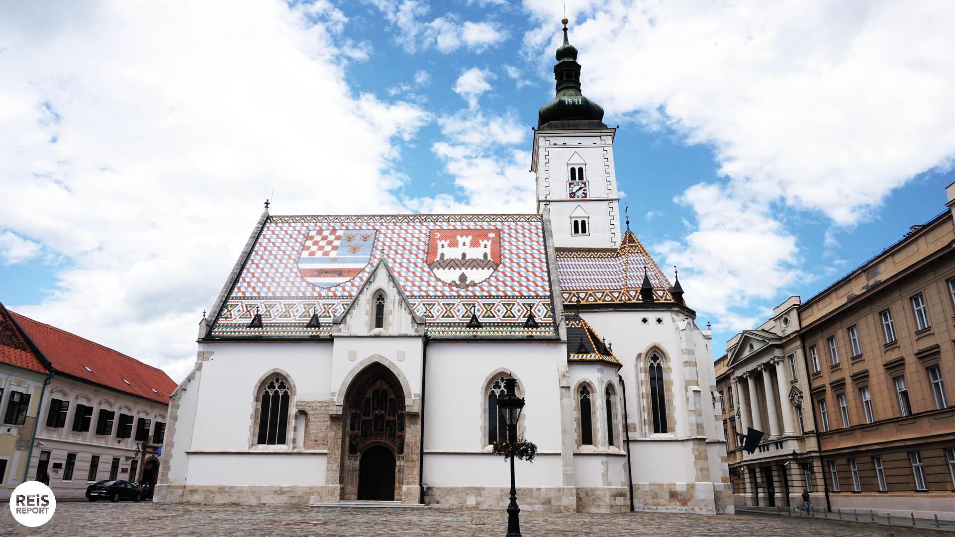 Sint-Marcuskerk zagreb kroatie