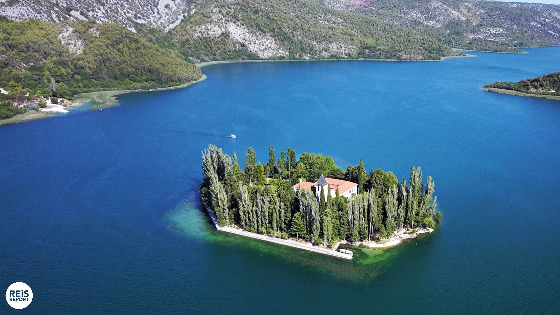 Visovac eiland