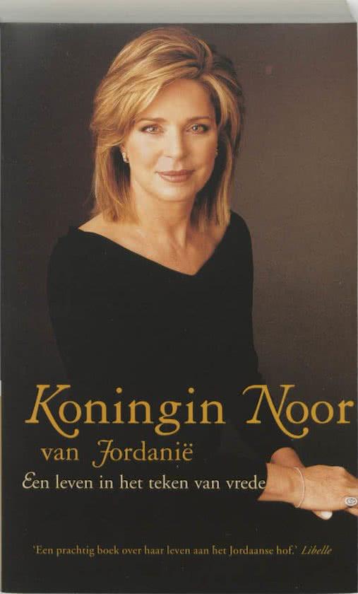 Boek: Koningin Noor van Jordanië cover