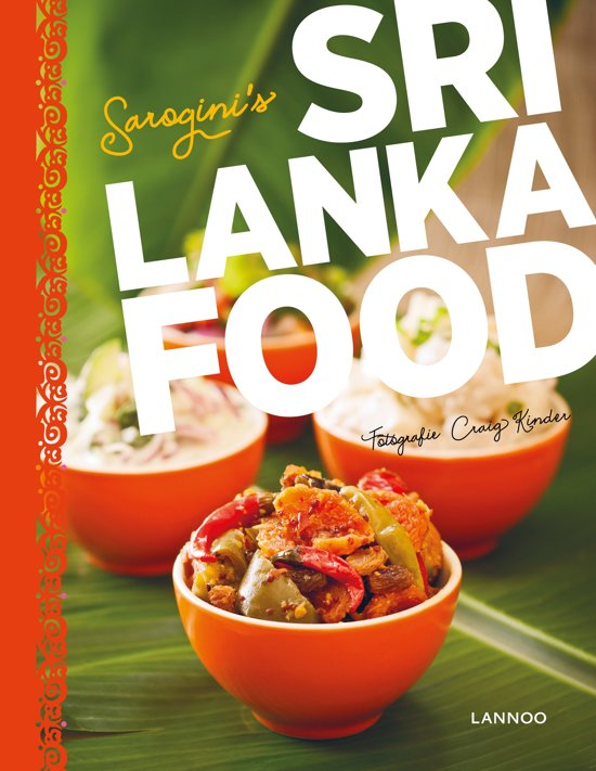 Boek: Sri Lanka food cover