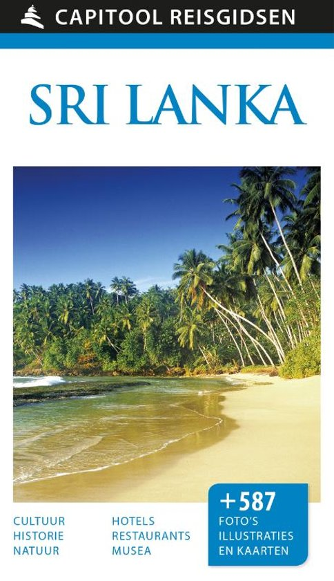 Reisgids: Capitool Sri Lanka cover