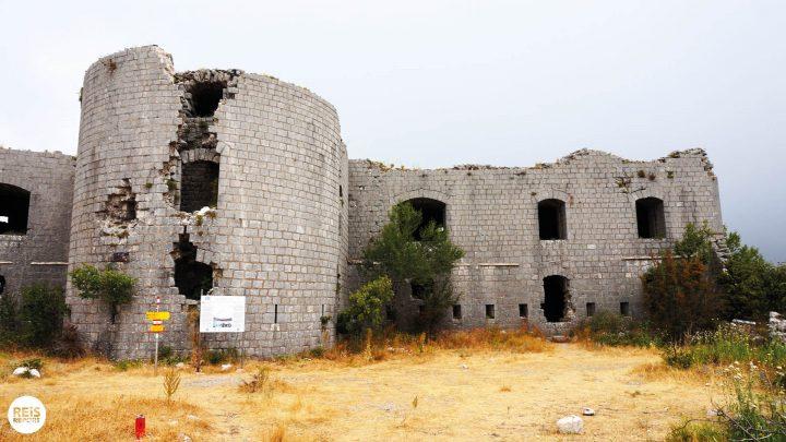 Fort Kosmač montenegro