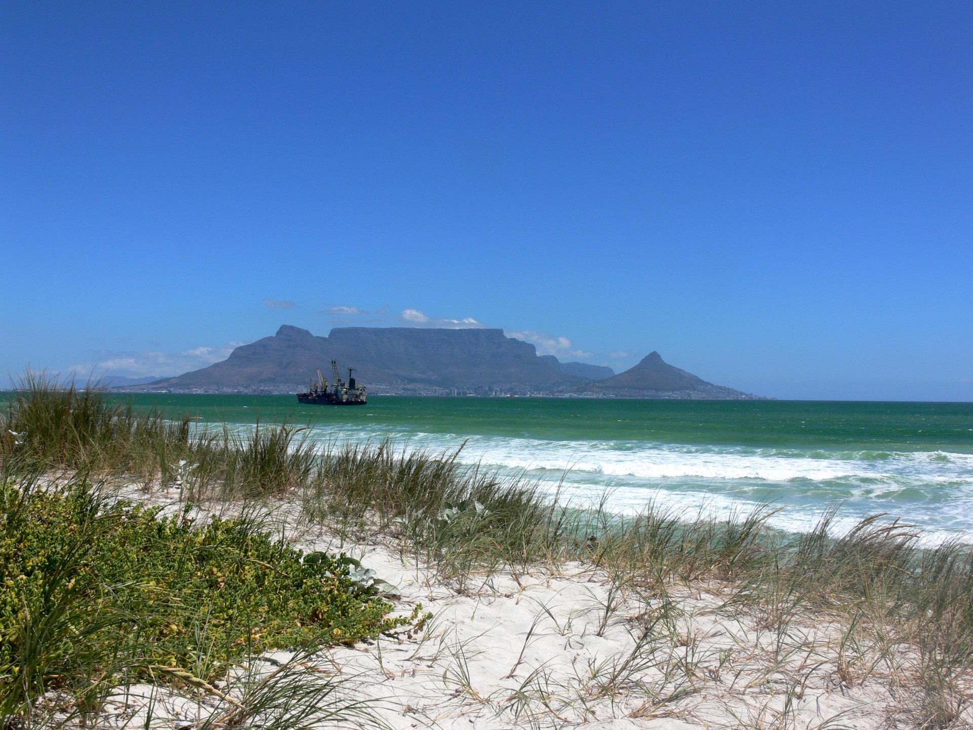Bloubergstrand Zuid-Afrika