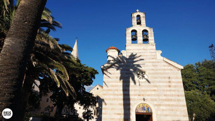 budva old town kerk