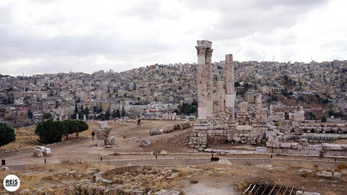 citadel amman jordanie