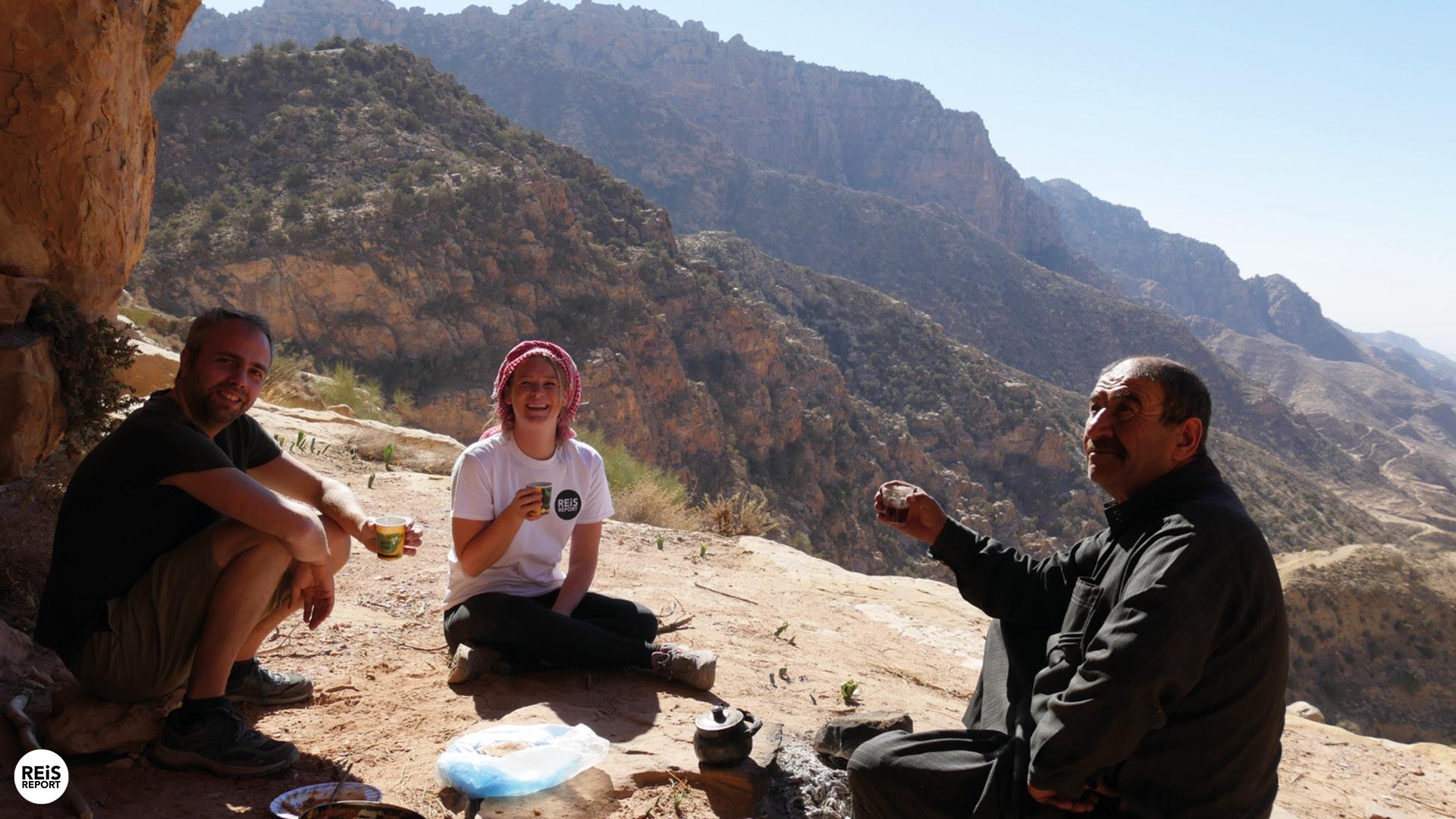 Wandeling met gids door Dana Biosphere Reserve cover