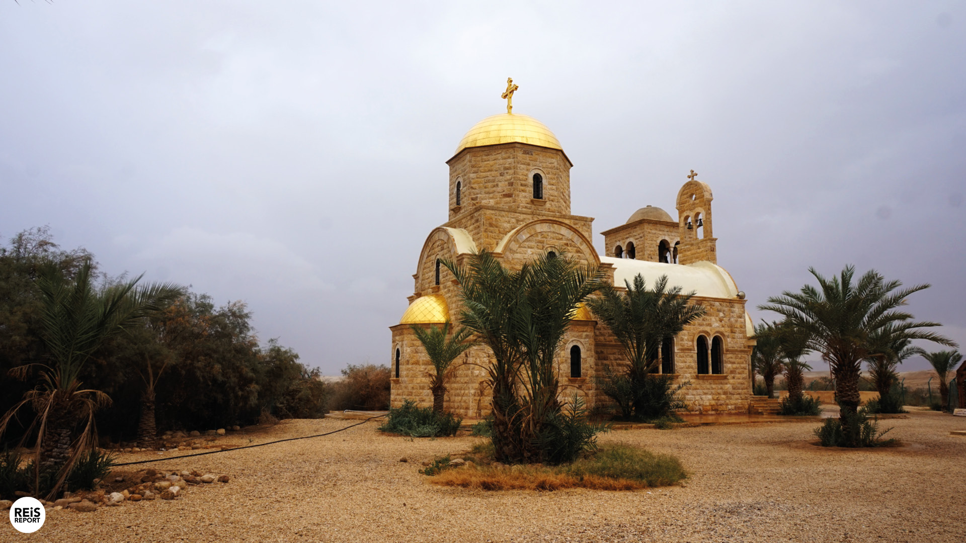 doopplek van jezus in jordanie