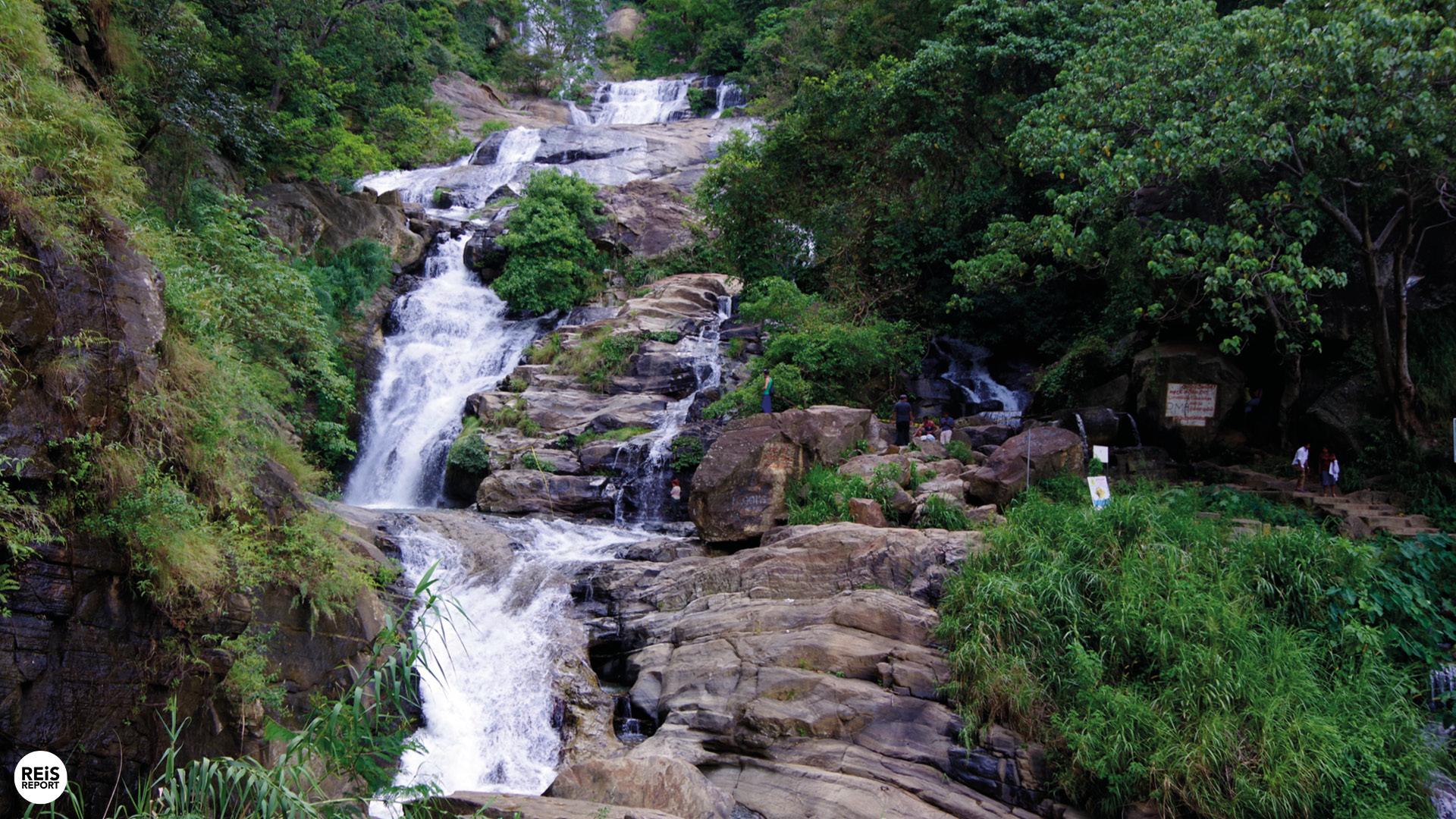 ella sri lanka ravana falls waterval