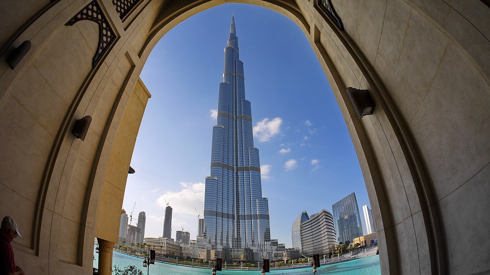Dubai downtown Dubai