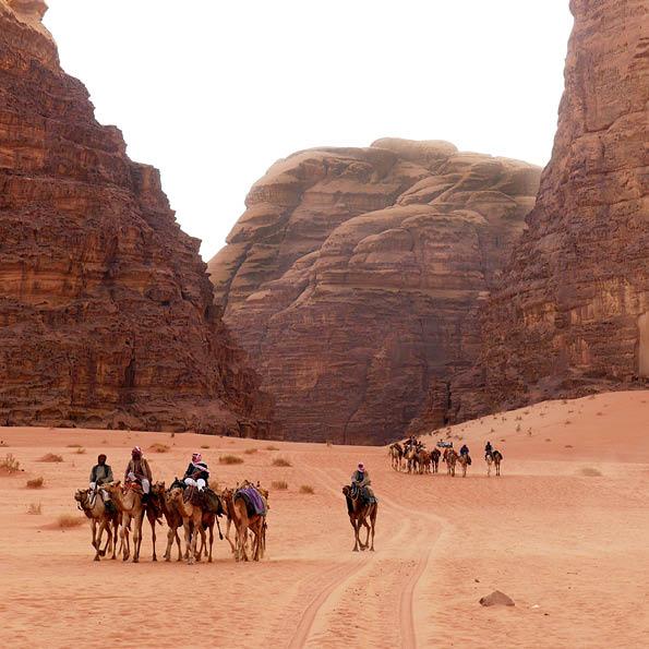 jordanie reizen