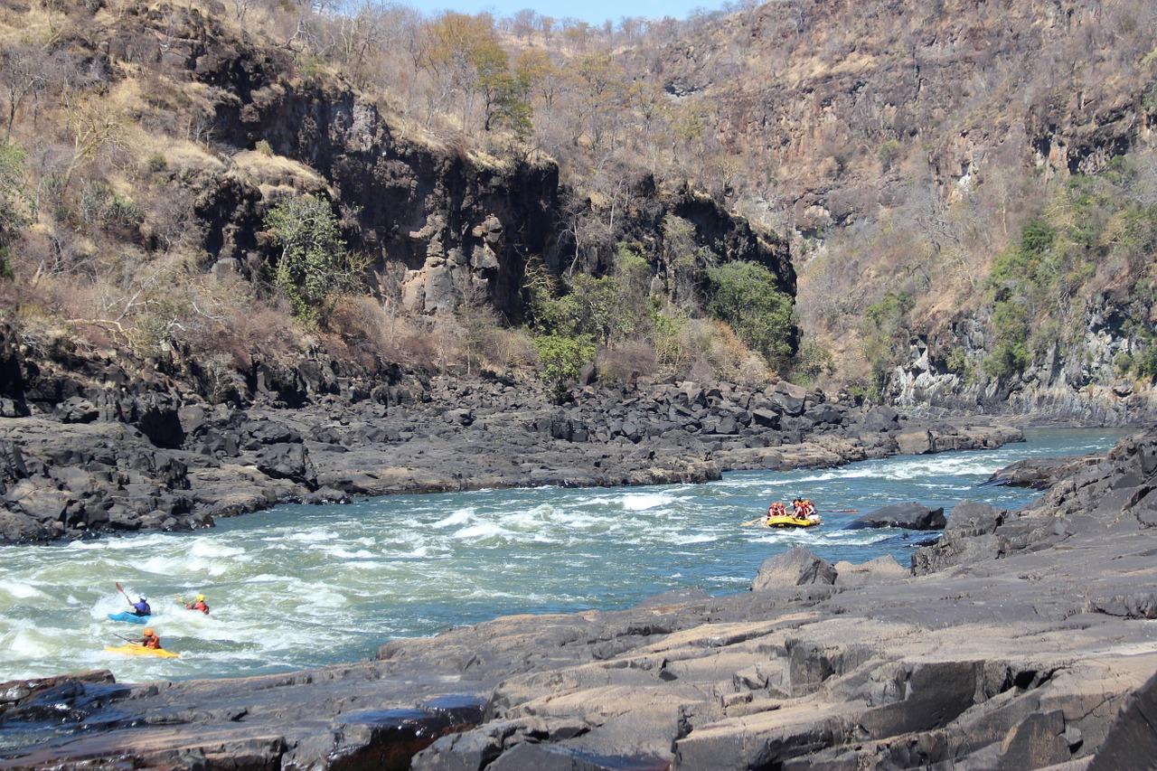 Zambezi Rivier Namibië