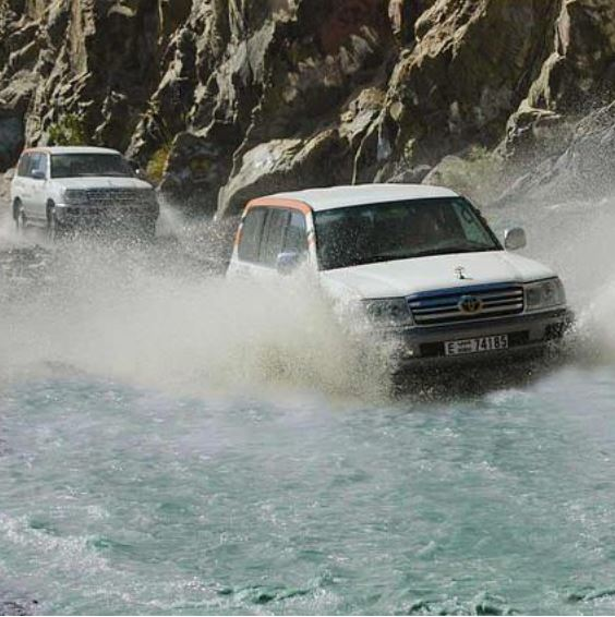 Offroad in het Hadjargebergte cover