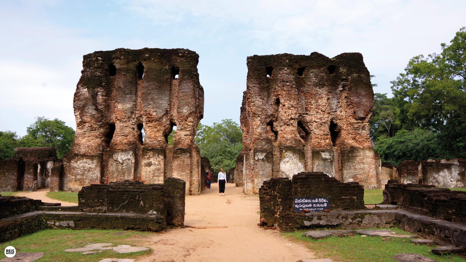 polonnaruwa sri lanka koning paleis