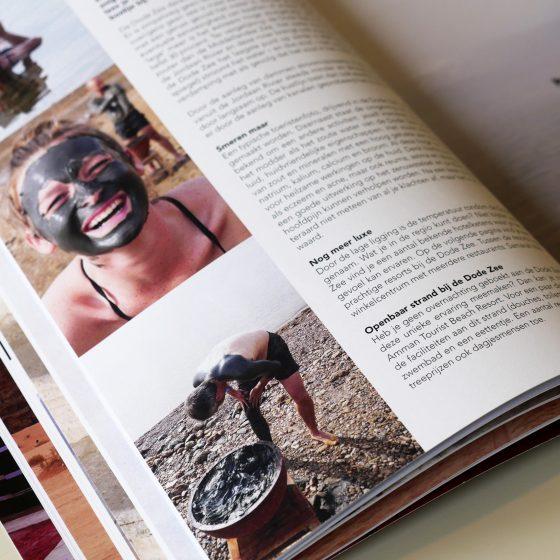 Jordanië reisgids magazine 2020 - luxe uitgave