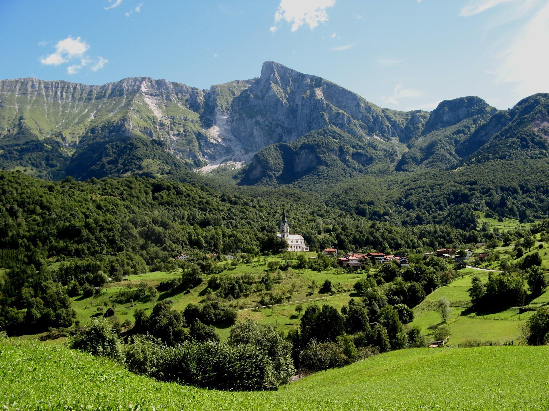 Kobarid Slovenië