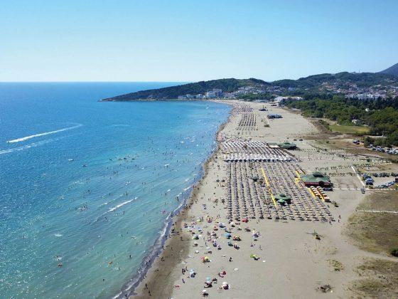 ulcinje montenegro strand
