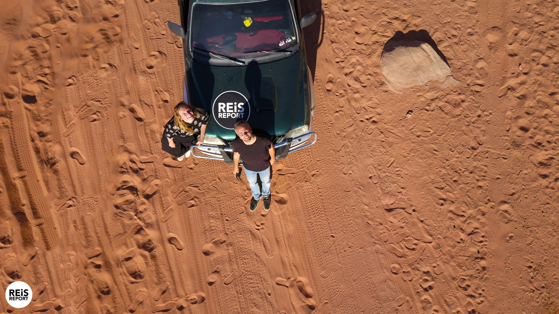 Jeep tour Wadi Rum, 2 uur (met lunch) cover