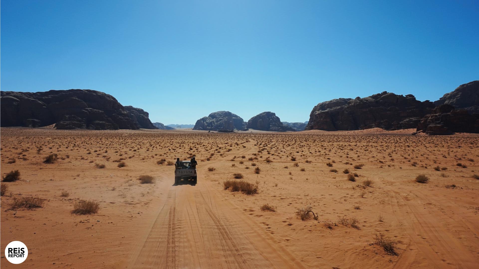 Quad rijden in de Wadi Rum cover