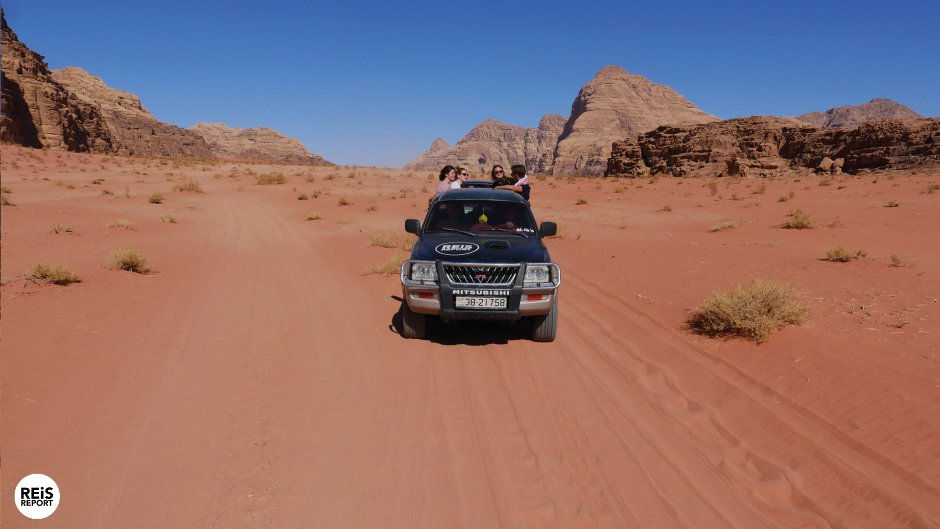 Jeep tour Wadi Rum, 4 uur (met lunch) cover