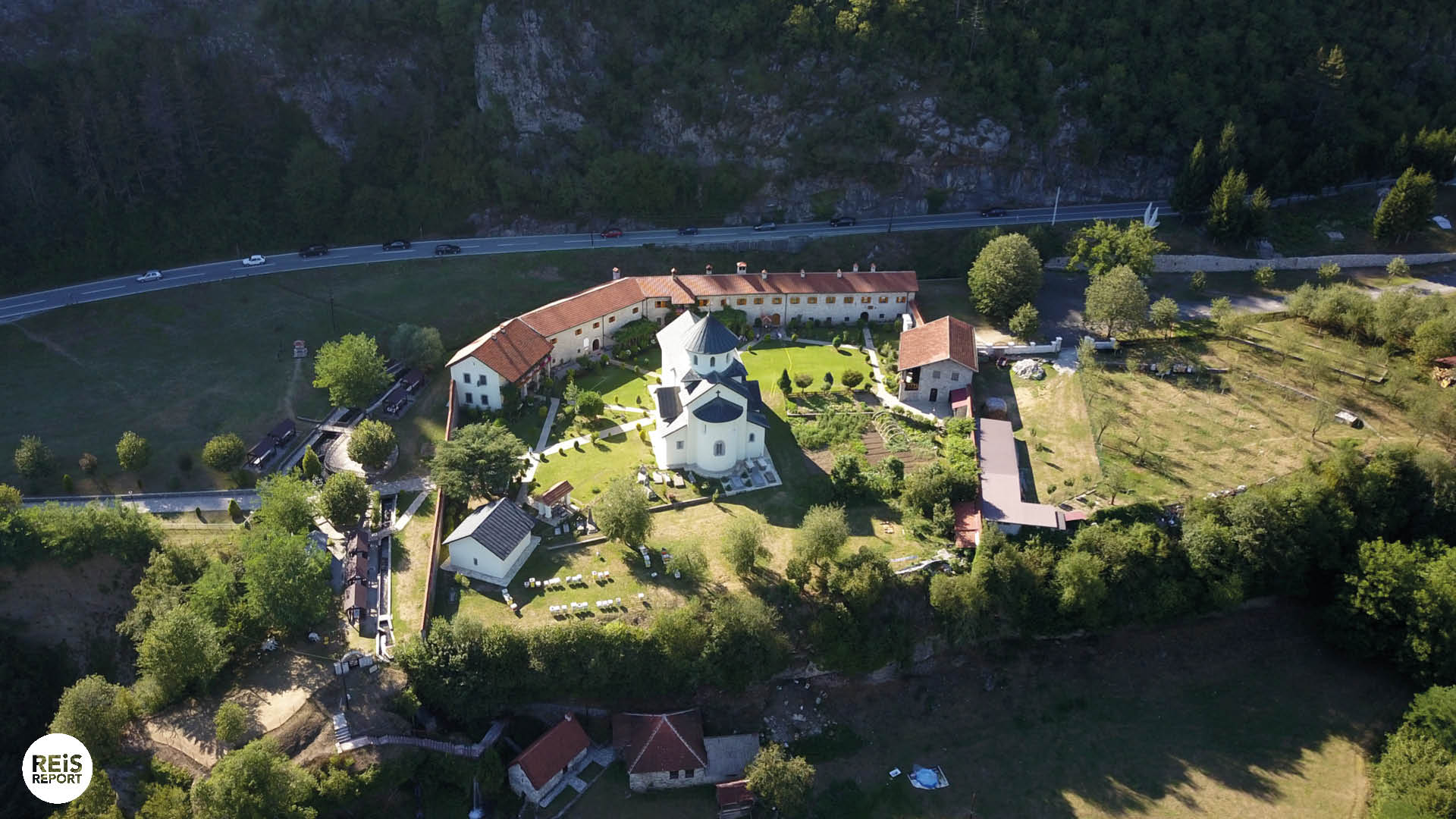 Morača klooster montenegro