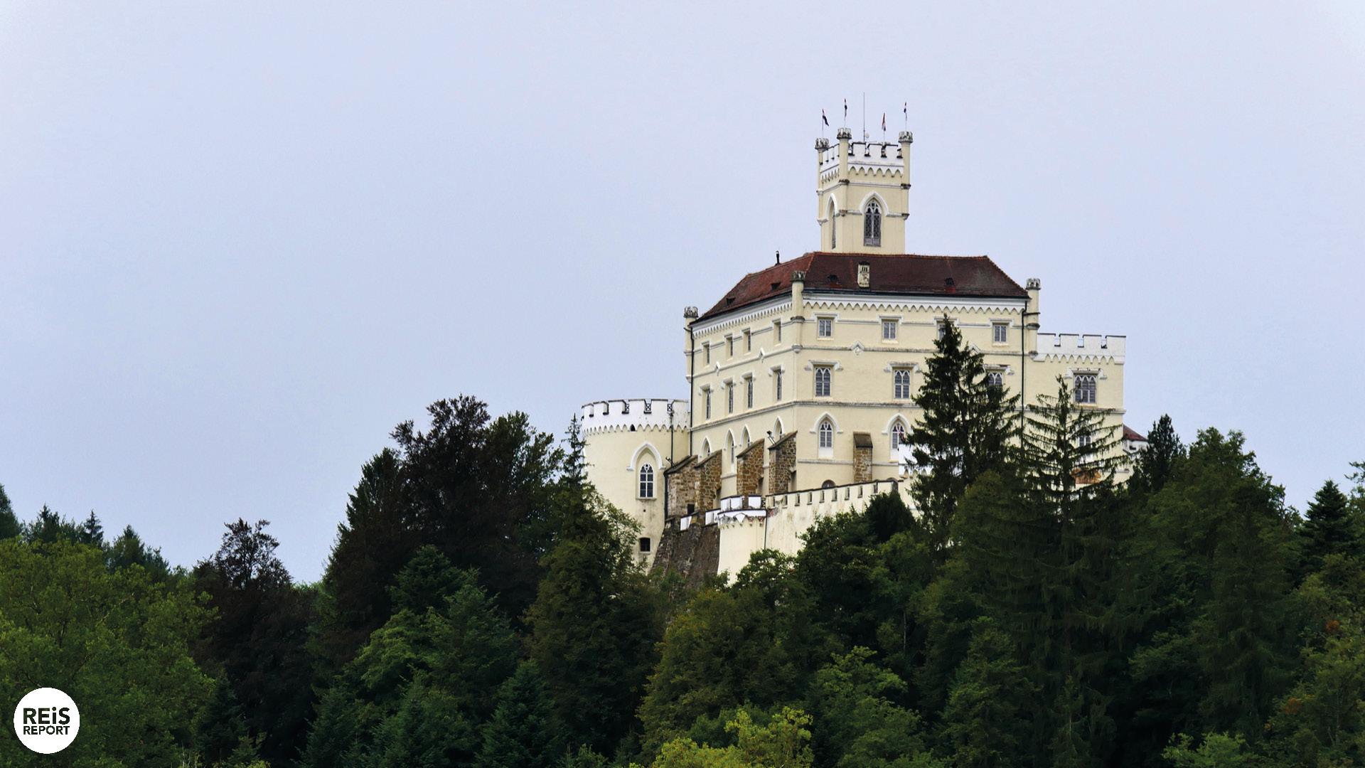 kasteel kroatië Trakošćan