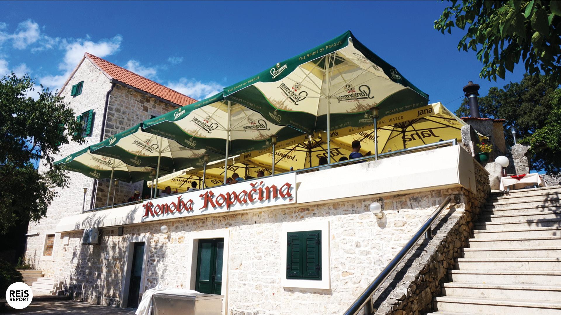 brac kroatie restaurant