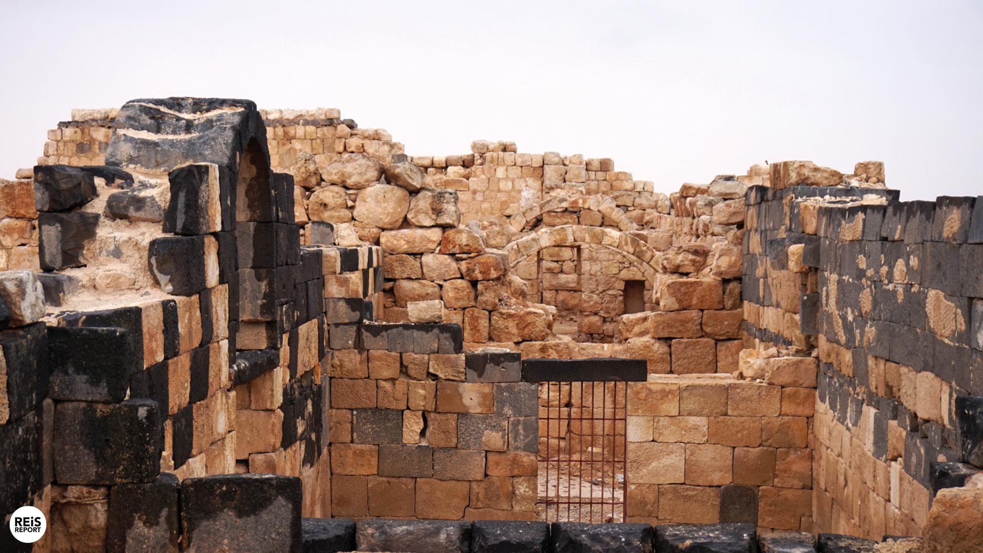 Al-Hallabat kasteel jordanie