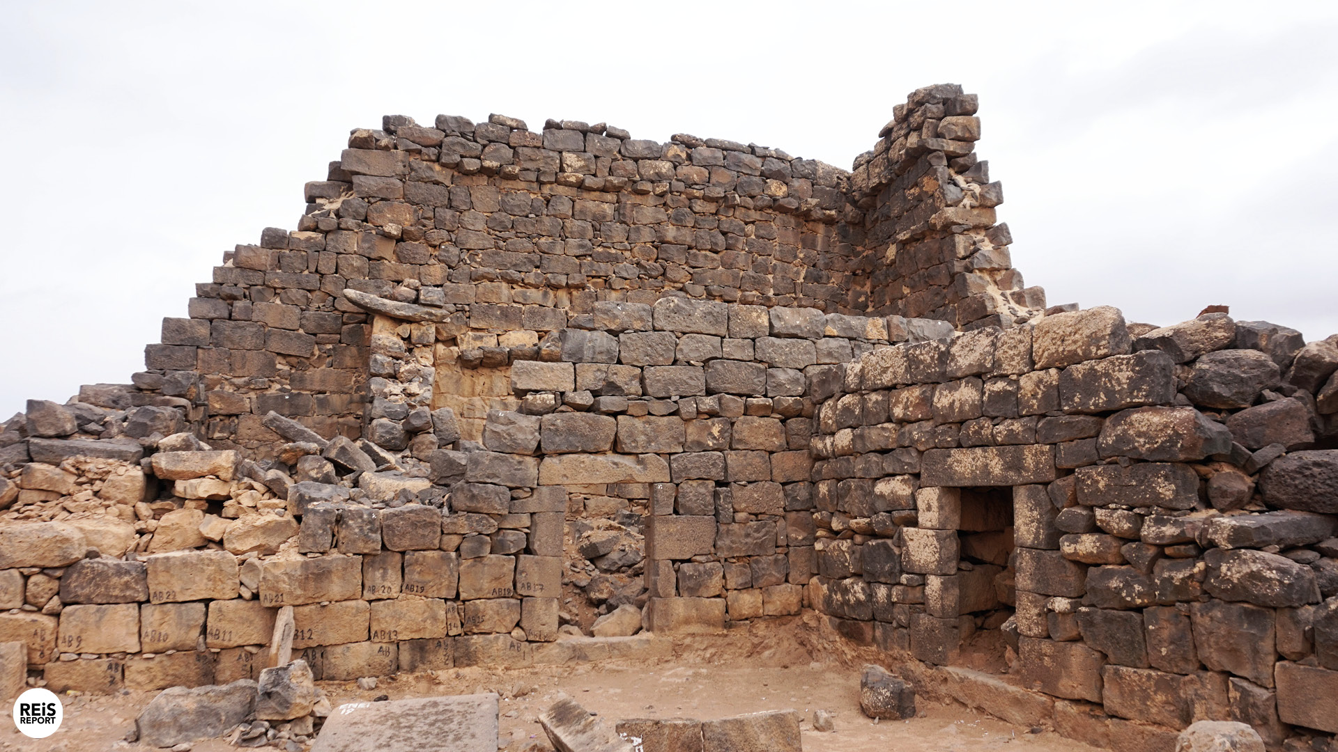 Umm al-Jimal jordanie