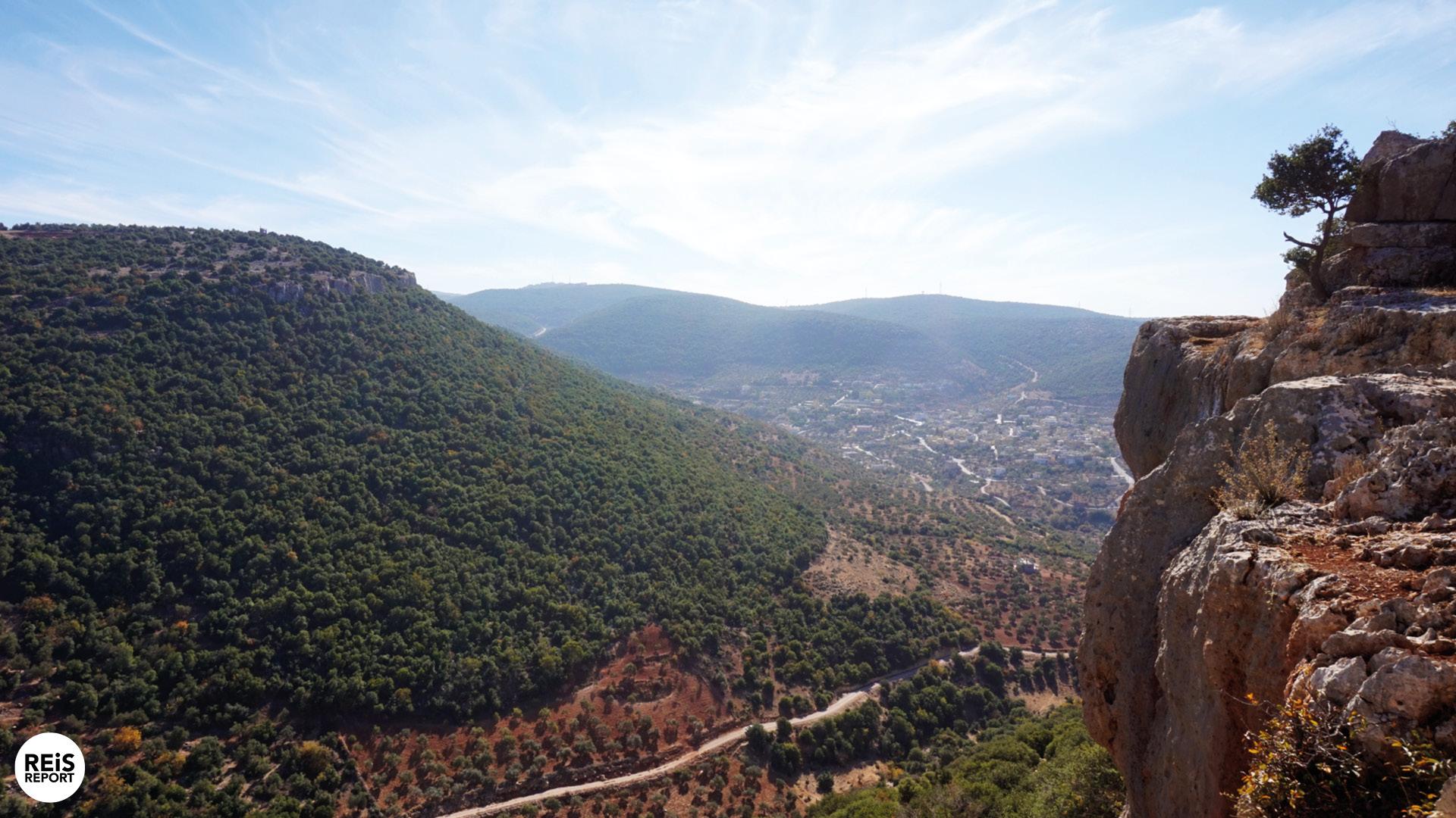 ajlun jordan hiking trail