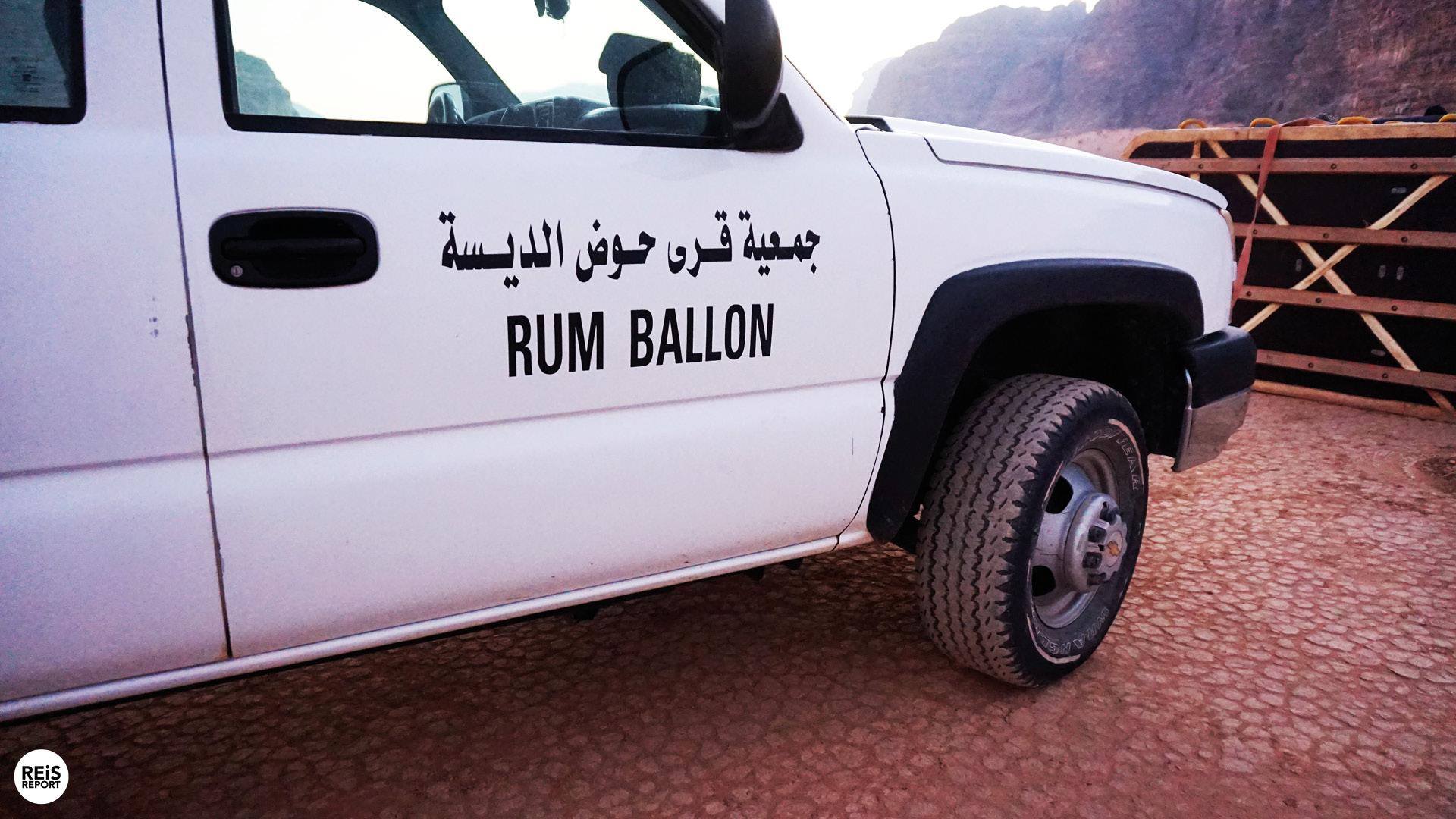 ballonvaart wadi rum woestijn