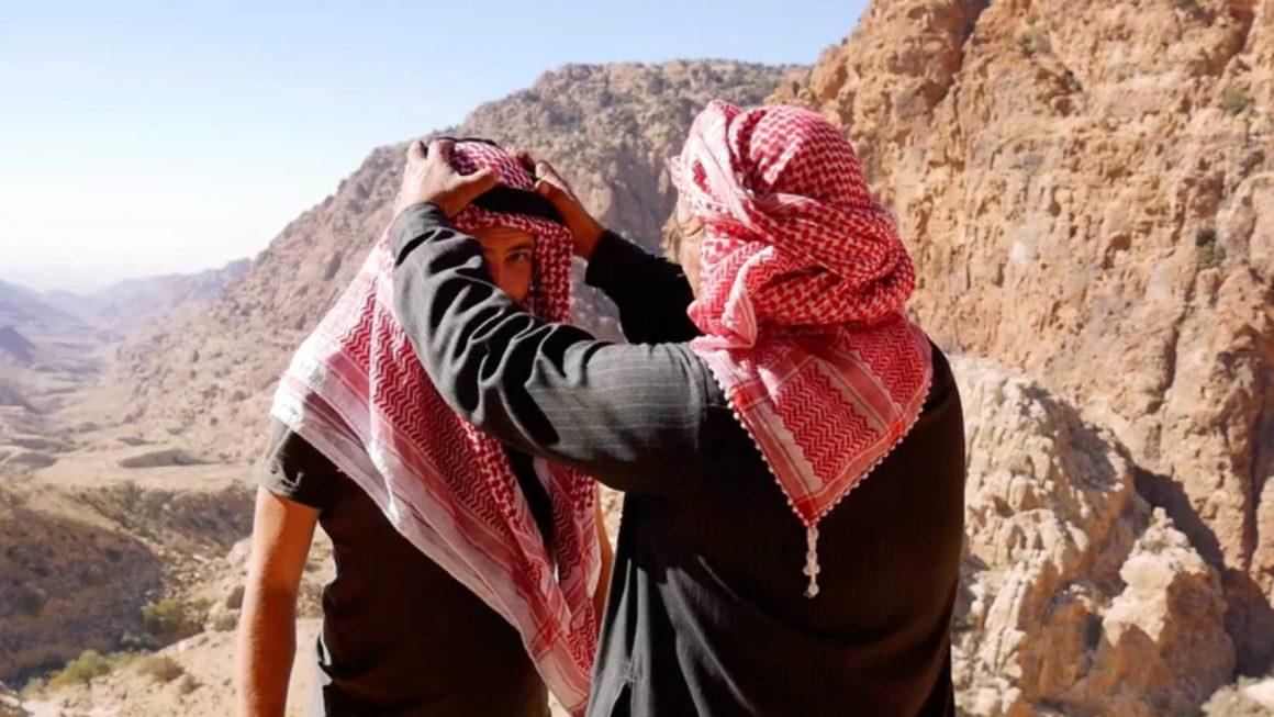 hoofddoek knopen jordanië