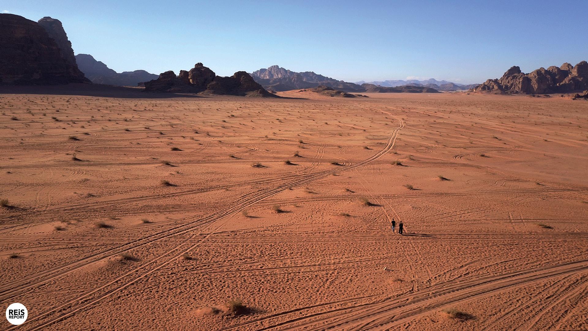 jordan trail wandelen jordanië route