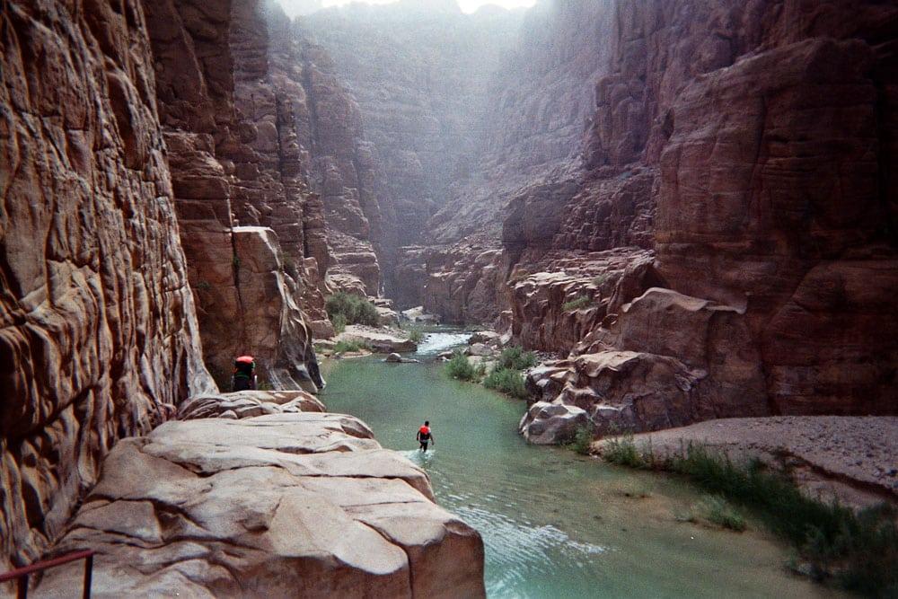 wadi mujib jordanië