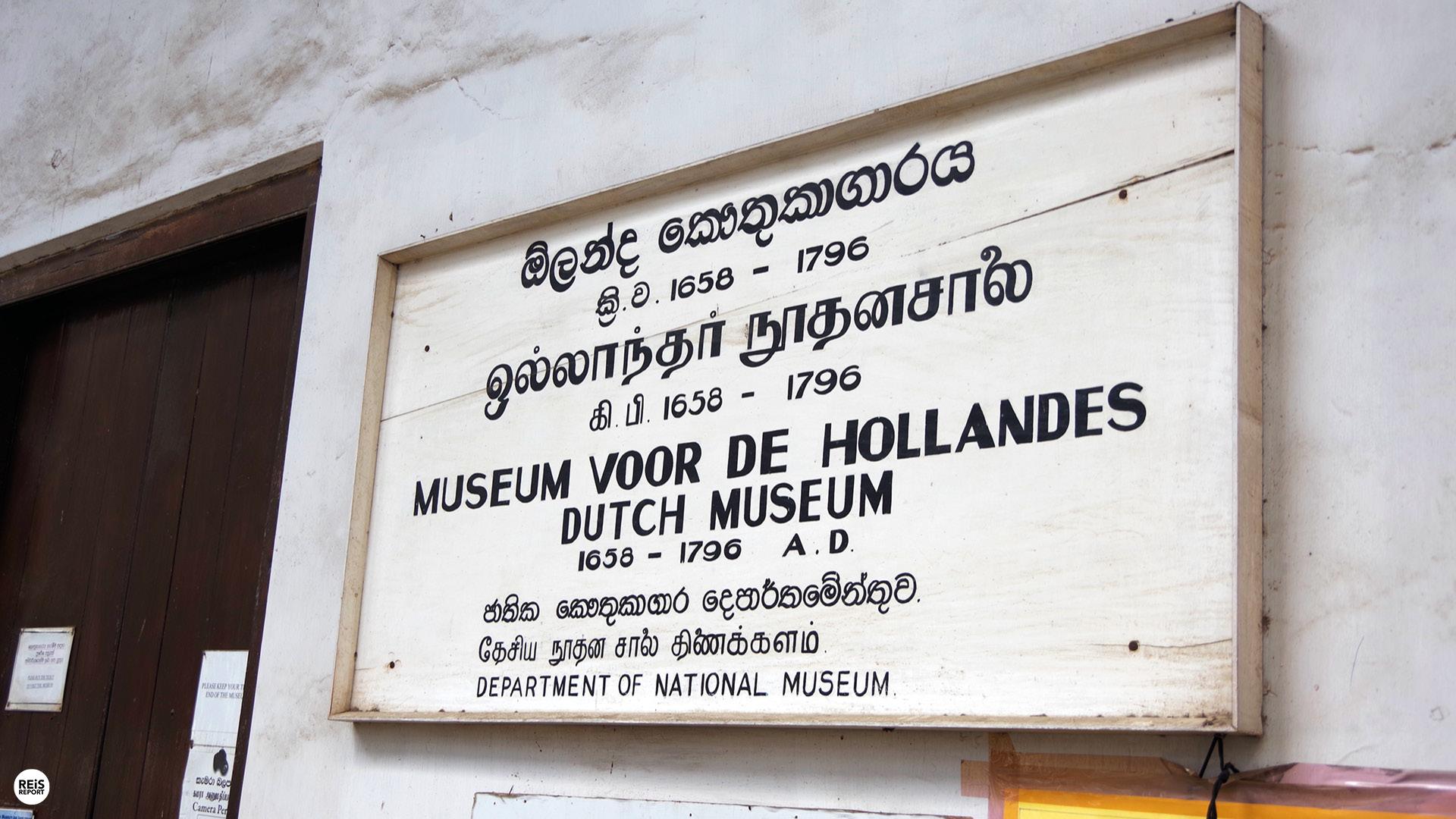 nederlands museum sri lanka