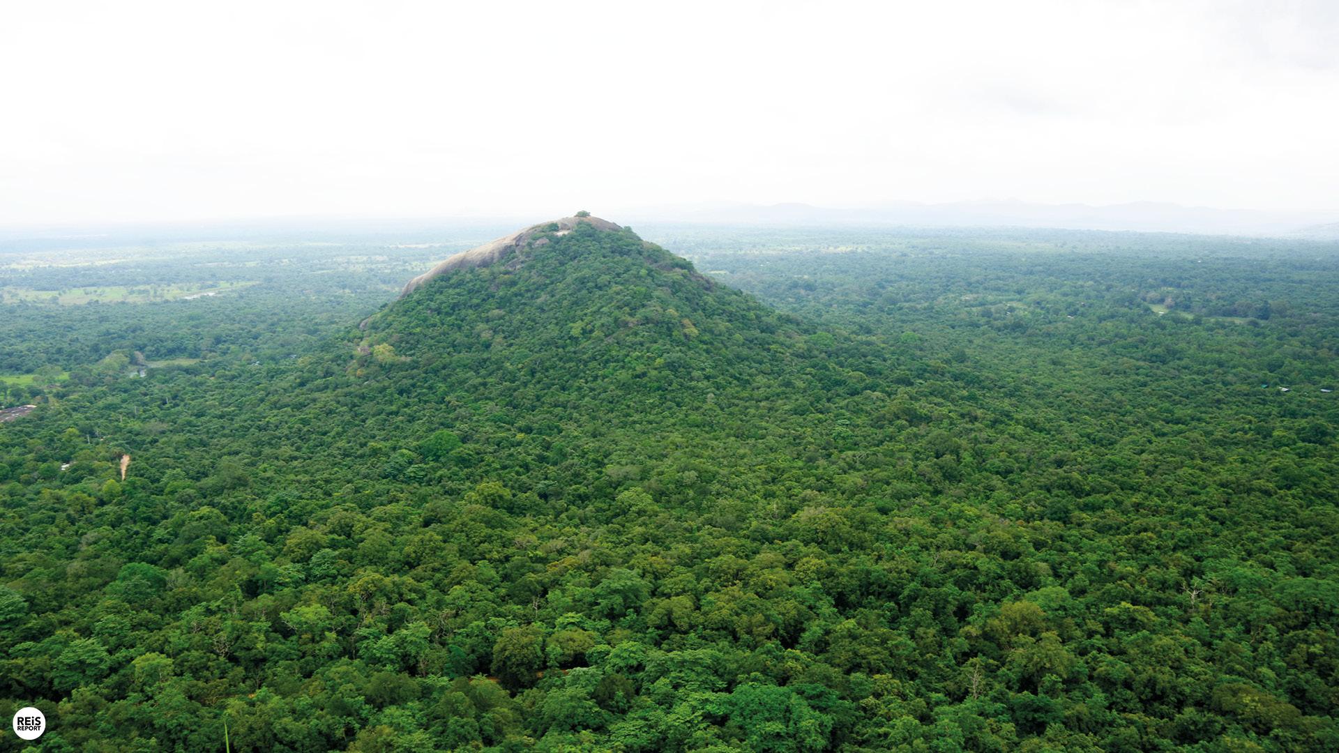 rots tegenover sigiriya