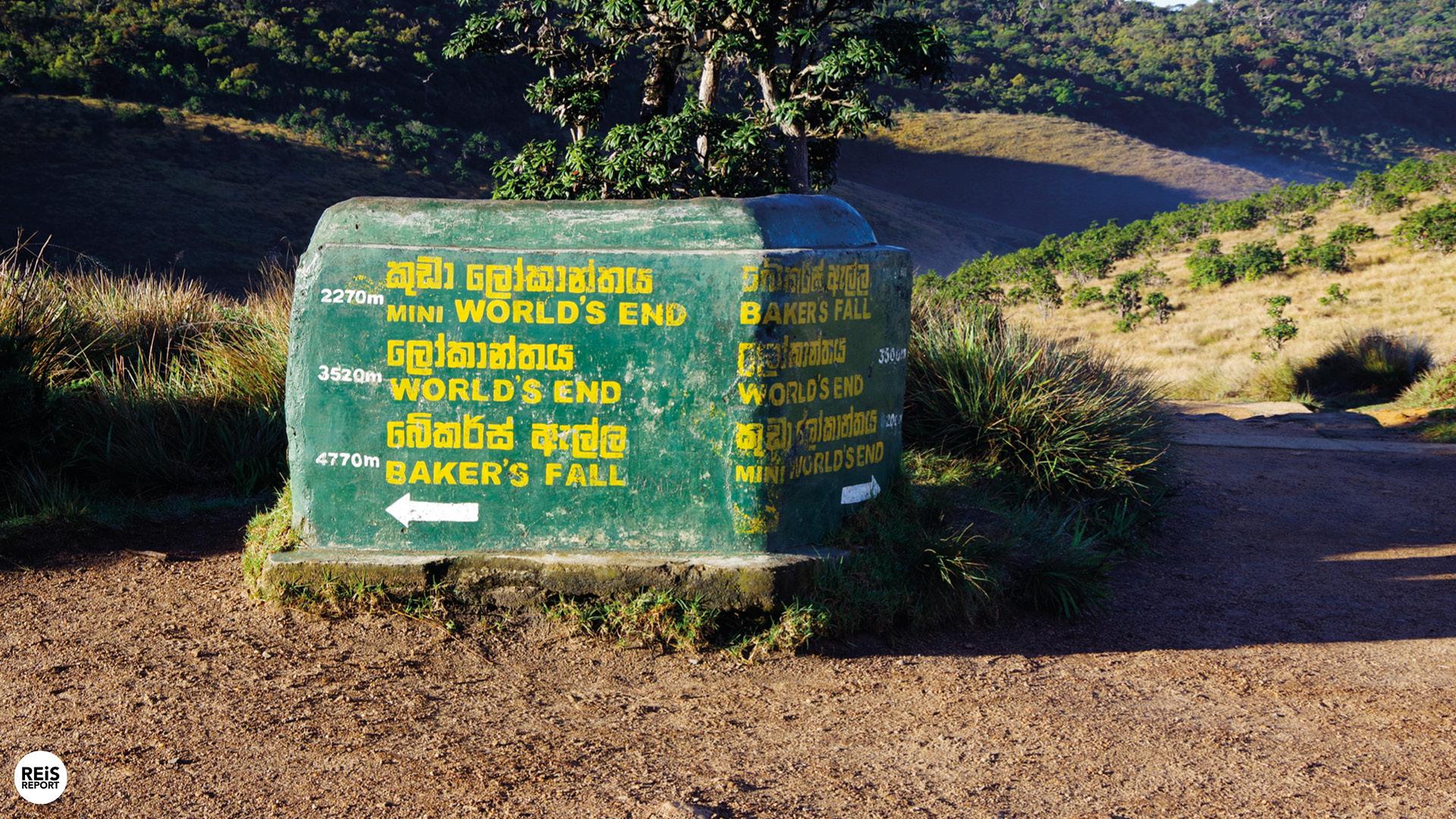 world's end sri lanka