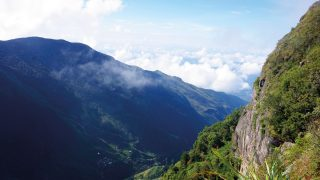 horton plains world end sri lanka wandeling