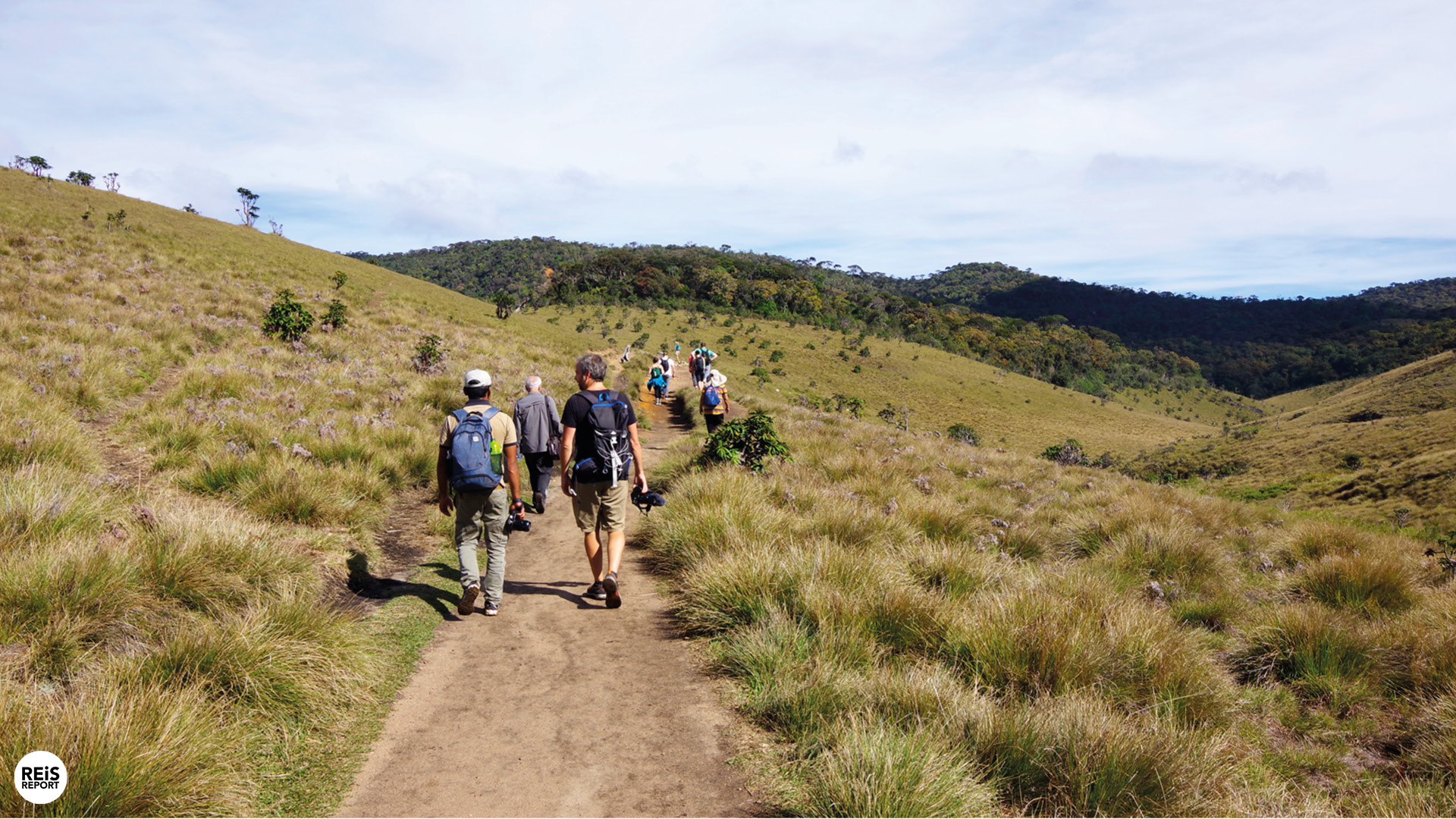 Horton Plains trekking cover