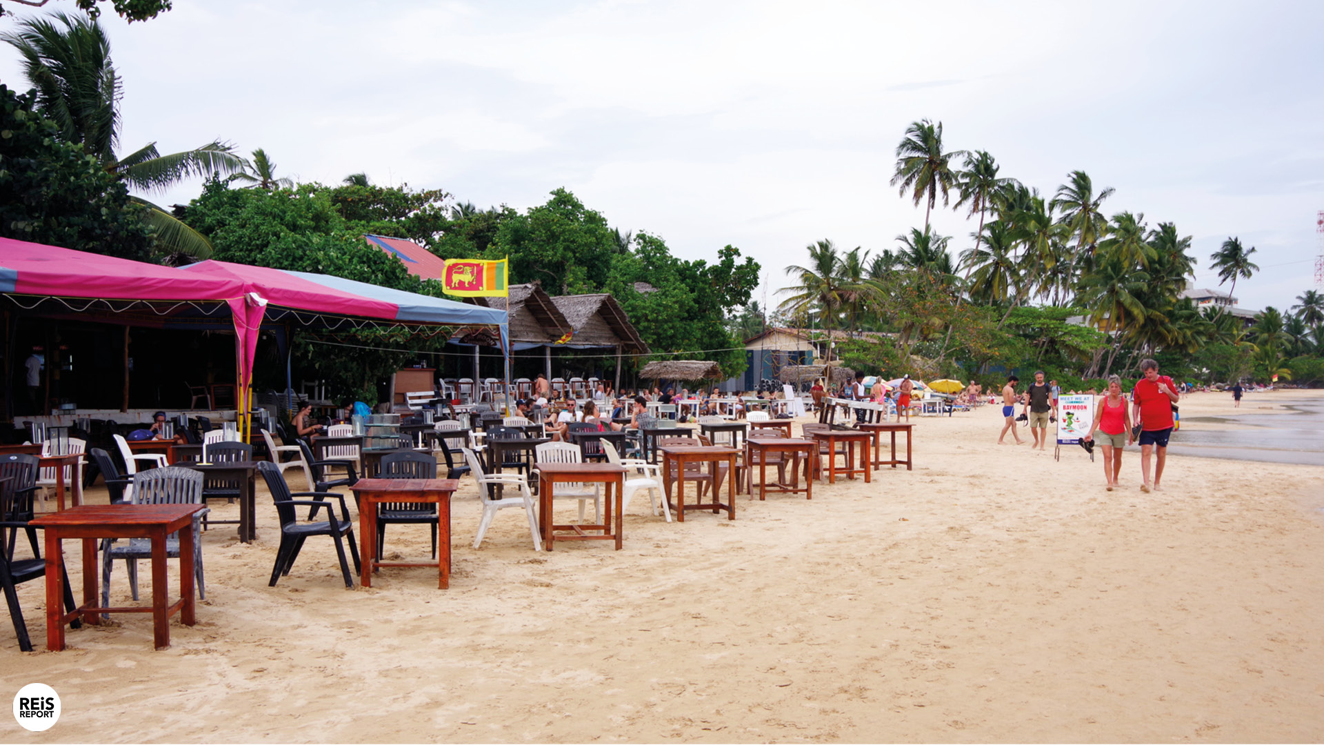 mirissa sri lanka strand