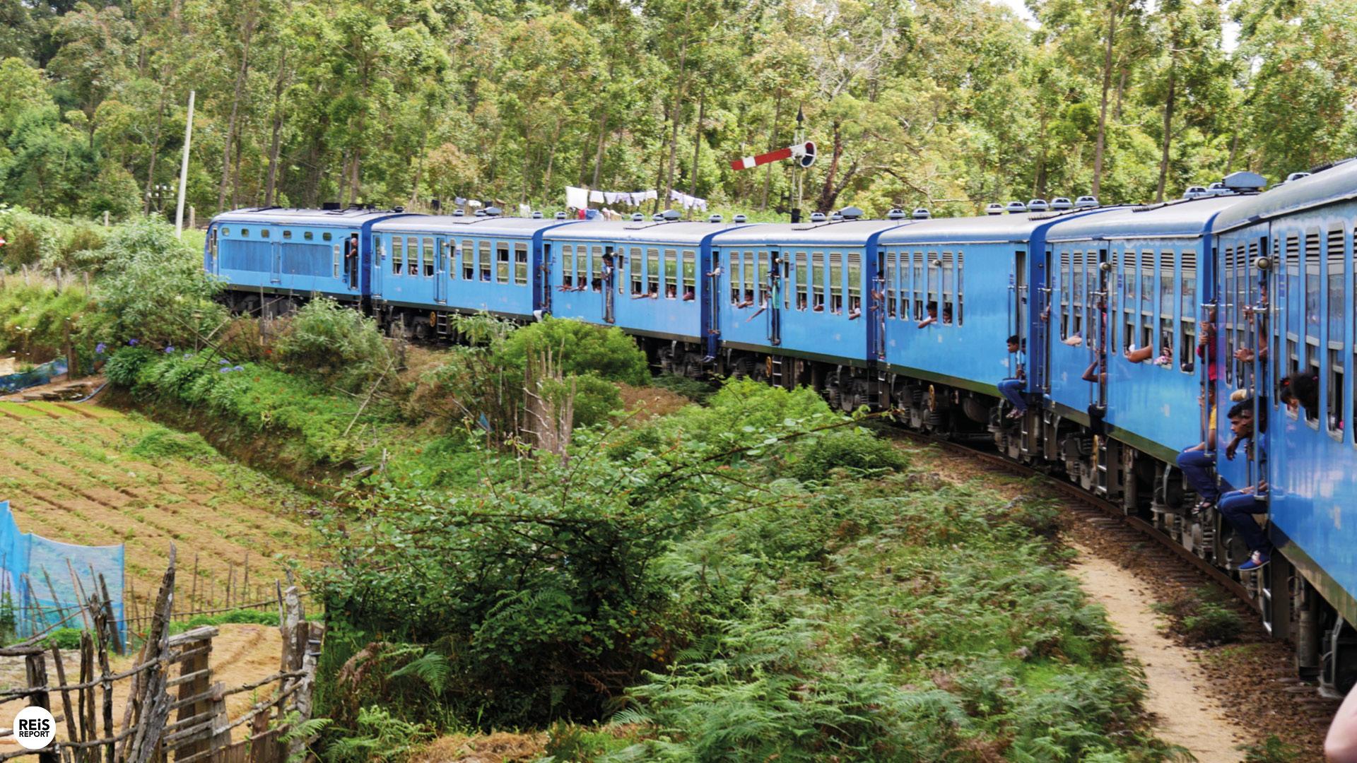 nuwara eliya sri lanka trein
