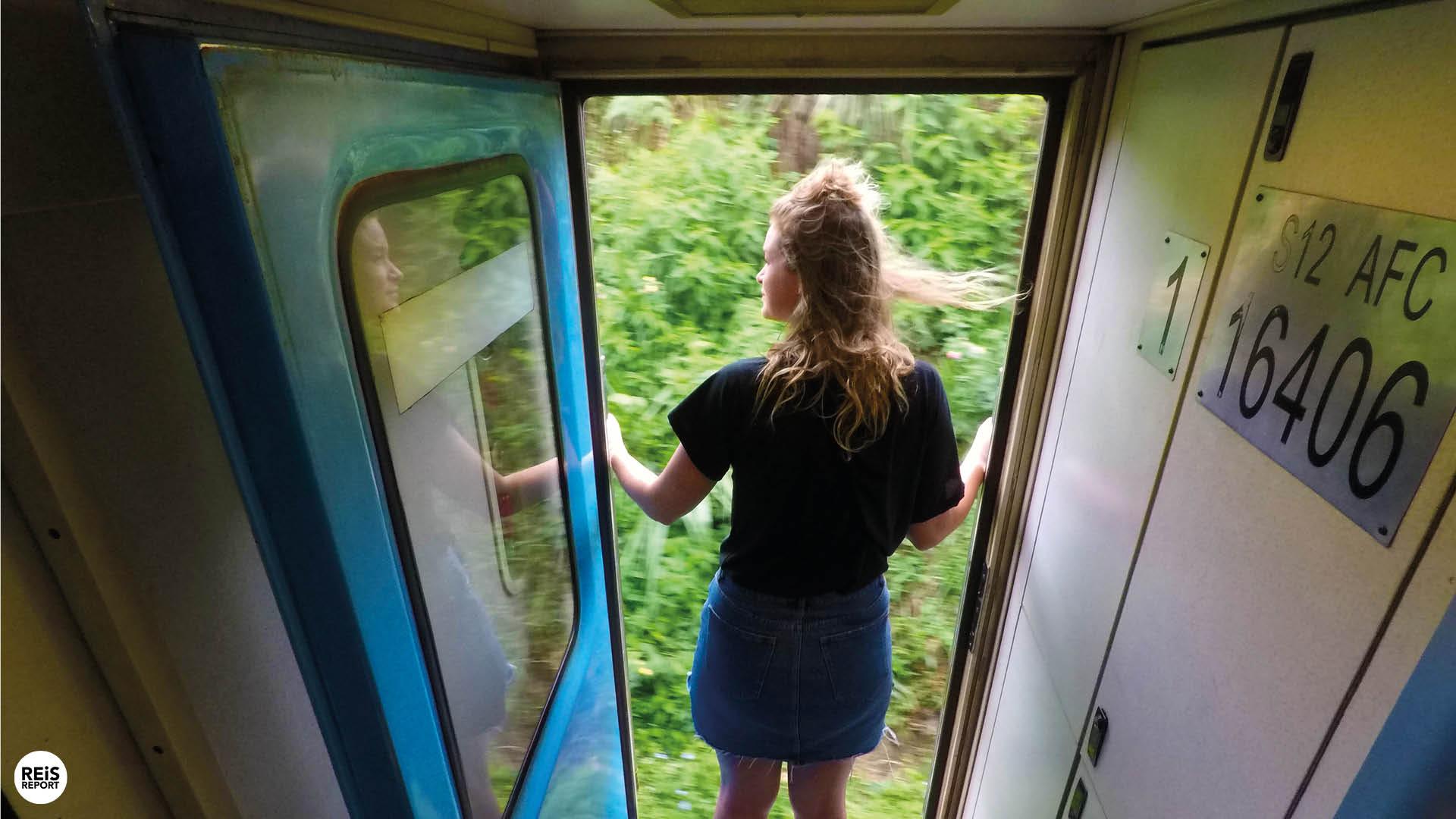 treinreis sri lanka foto's