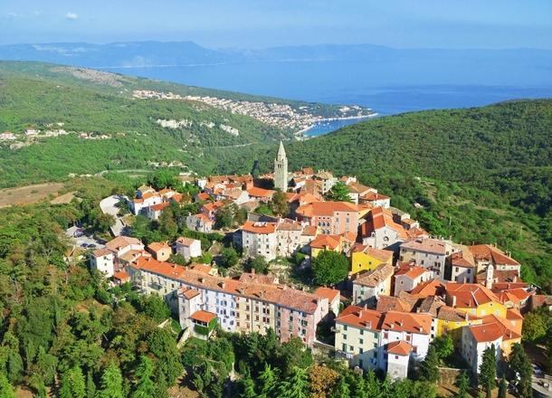 Labin Kroatië