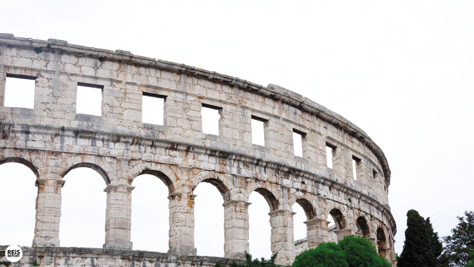 amfitheater kroatie pula
