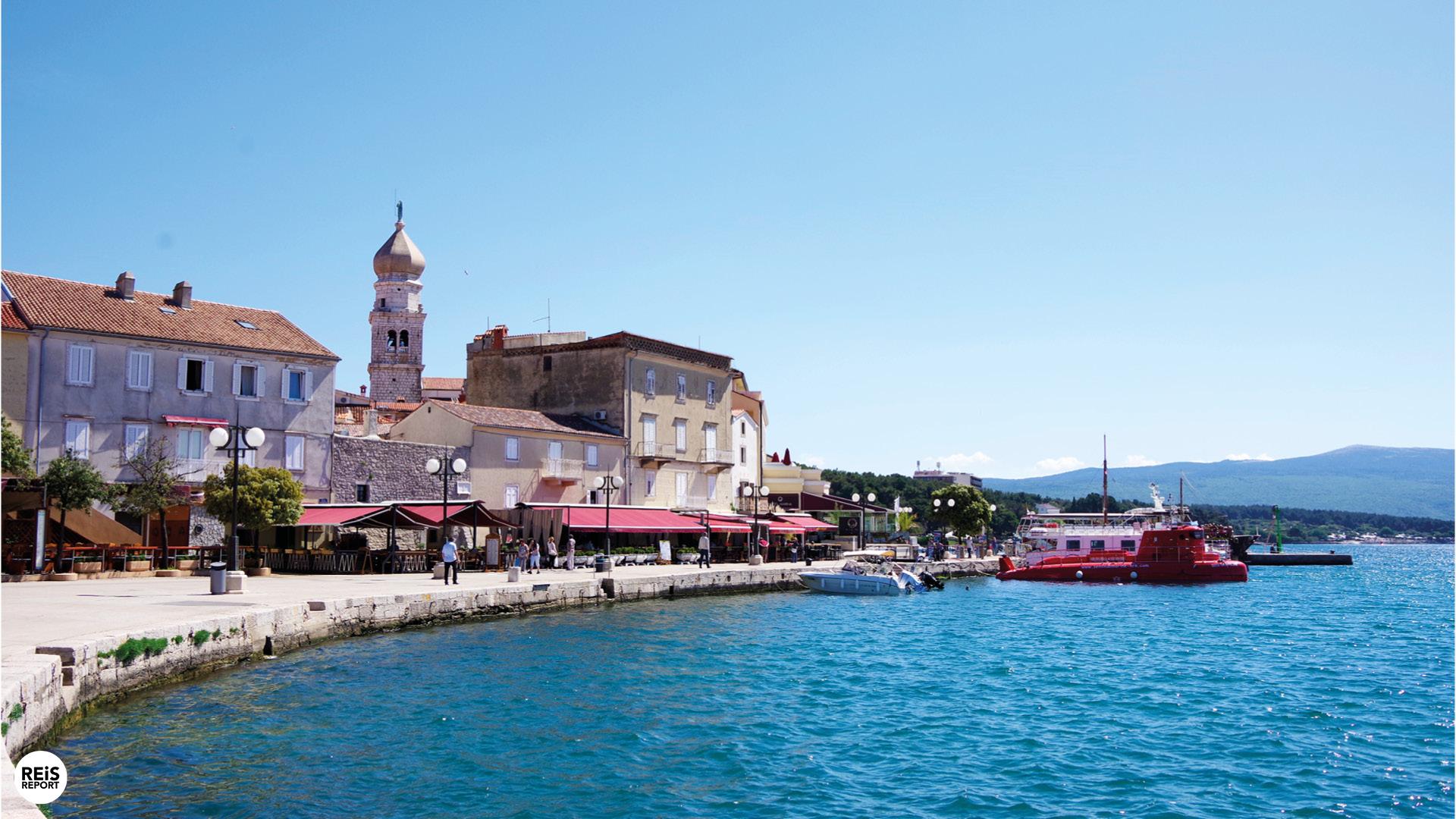 krk stad kroatie