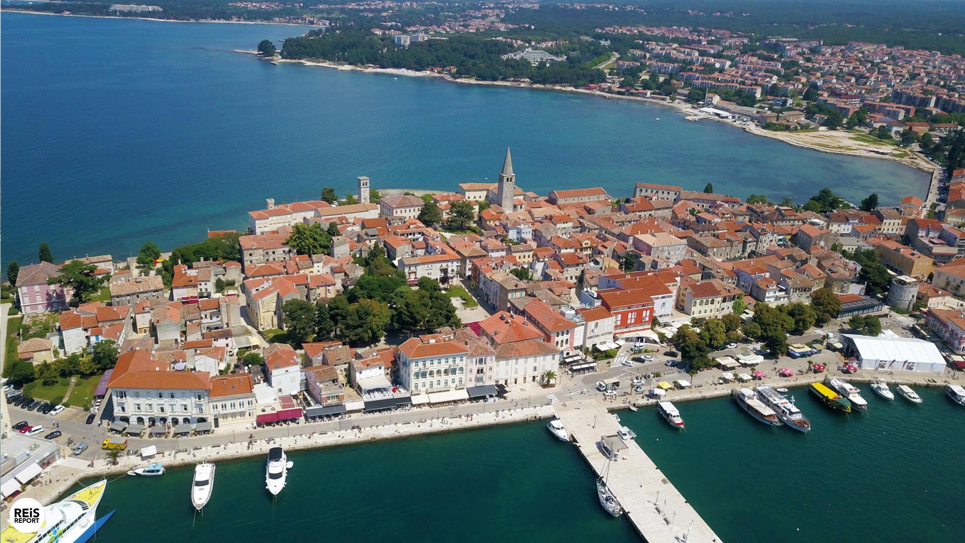 porec kroatie strand
