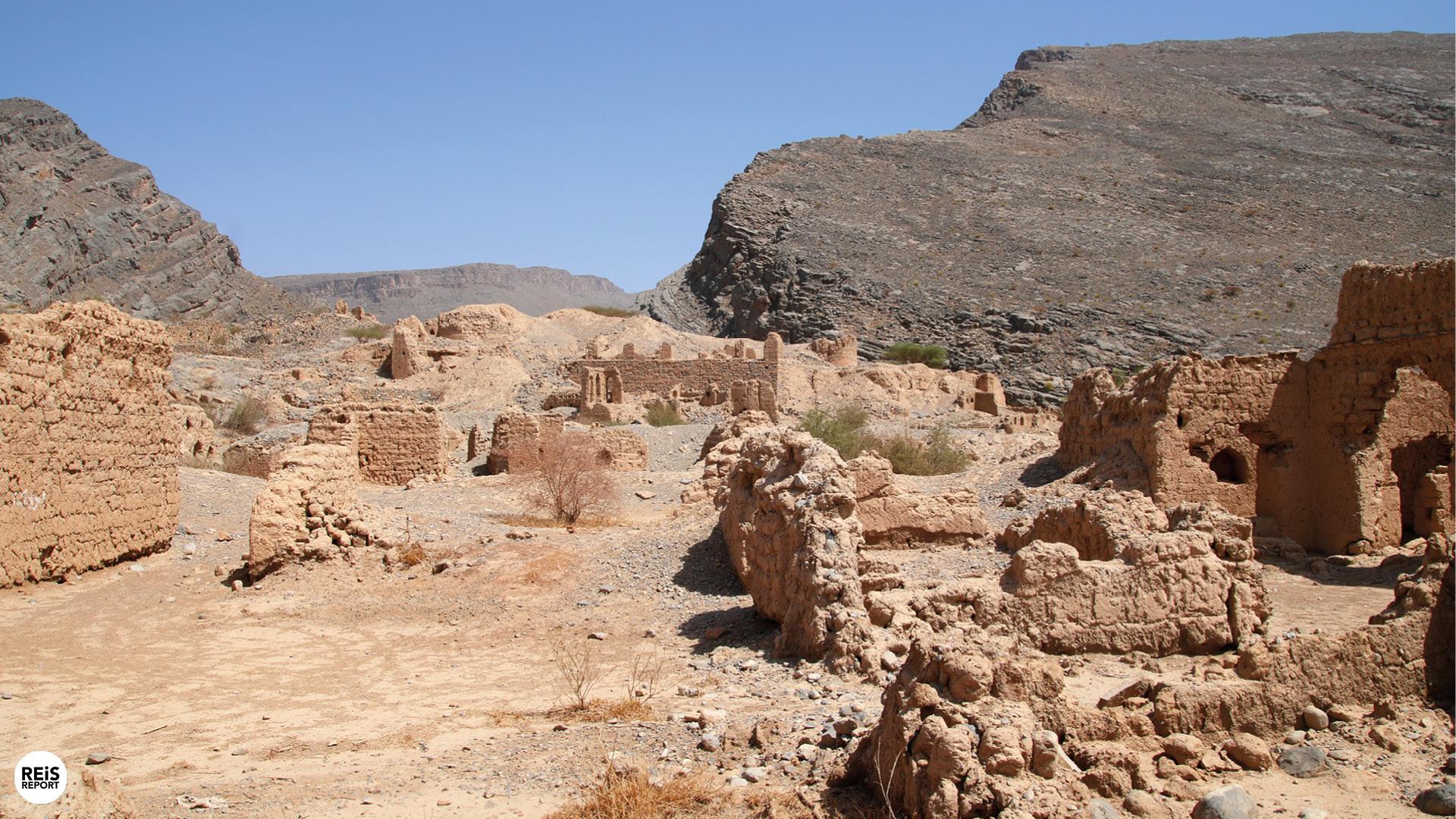 tanuf ruines oman