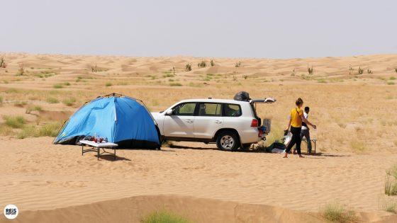 Wildkamperen in de Empty Quarter - Oman excursie