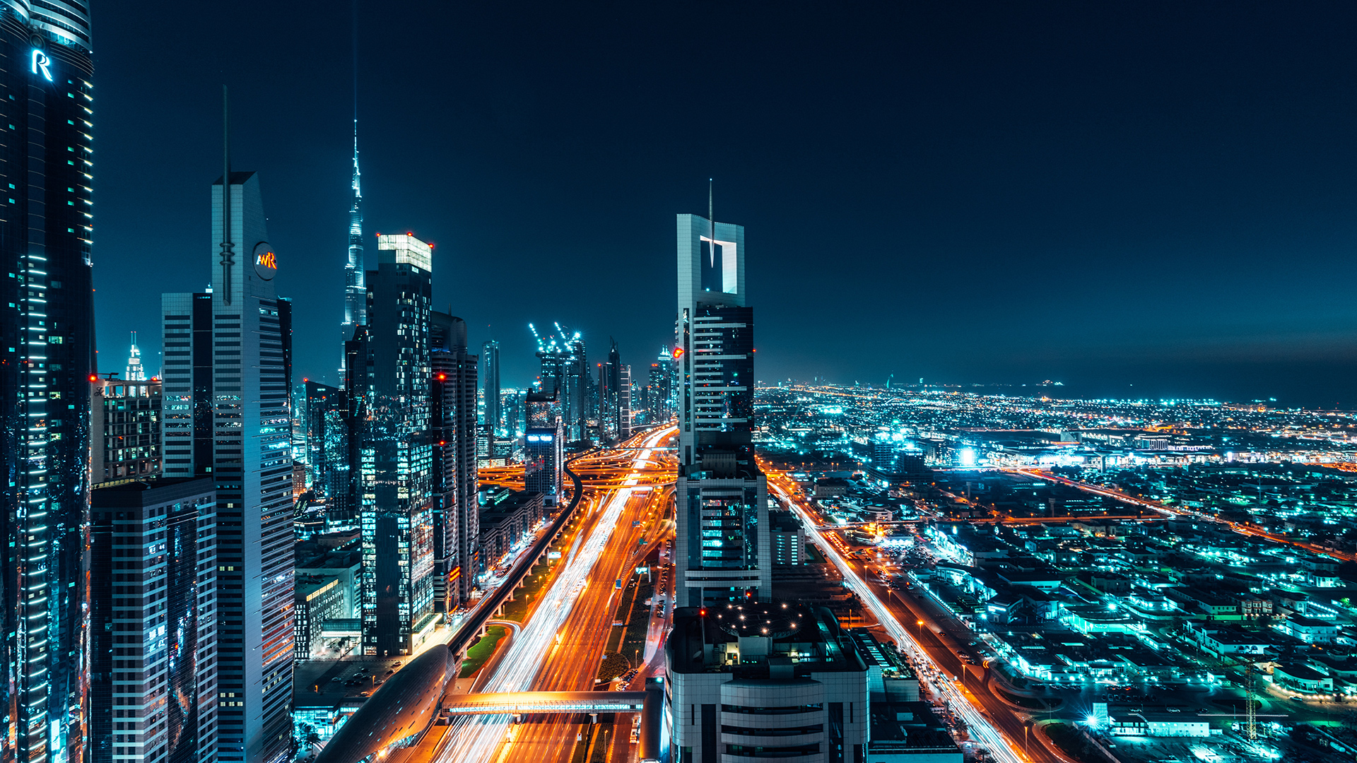 Dubai vliegveld Dubai