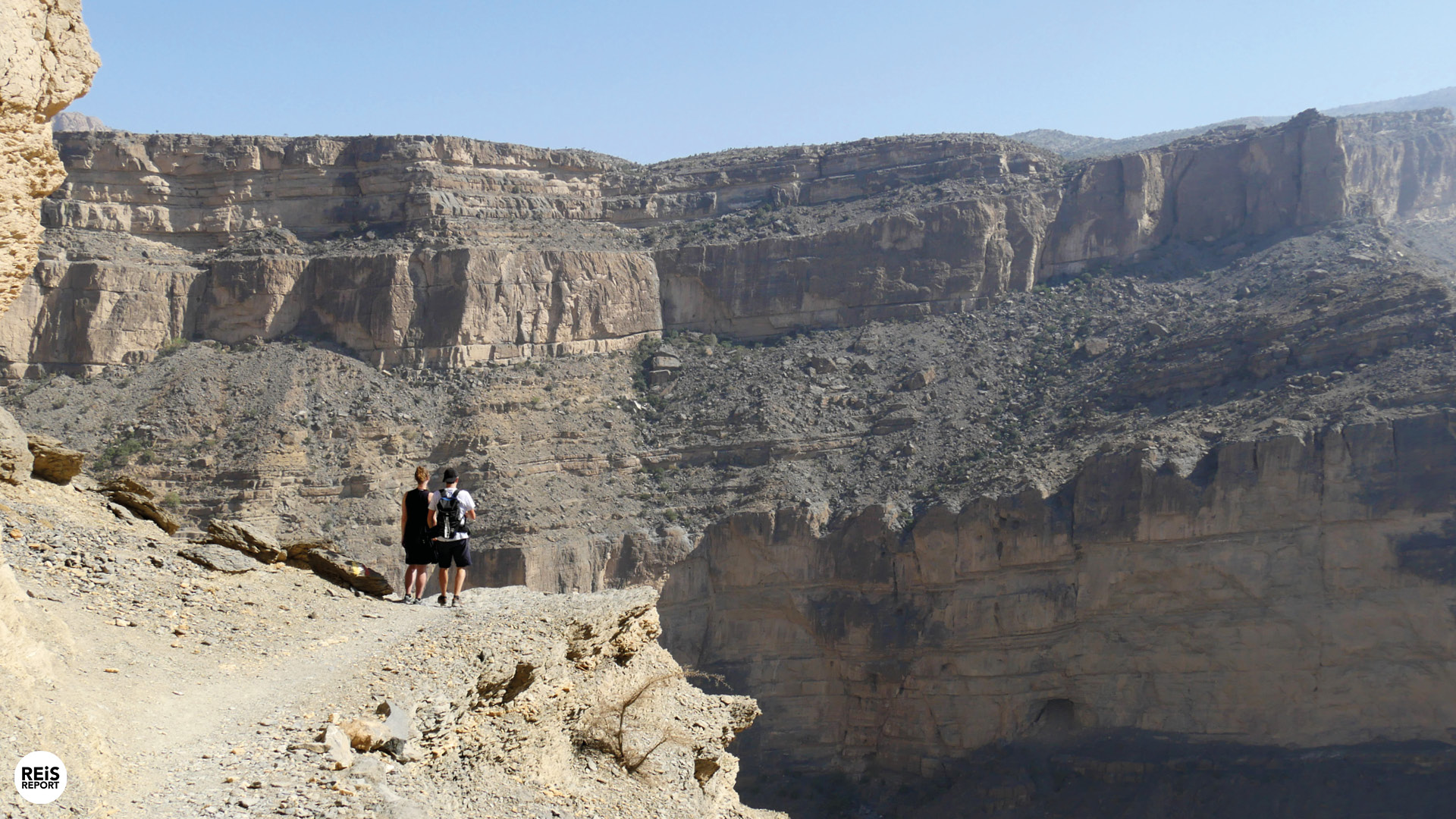 jebel shams wandeling